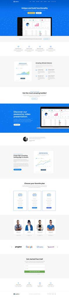 LeadGen Marketing Landing Page - Software, buy - https://goo.gl/KD0bMP