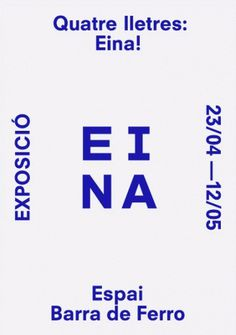 clase bcn / Claret Serrahima #poster #book #barcelona #catalog #clasebcn #eina