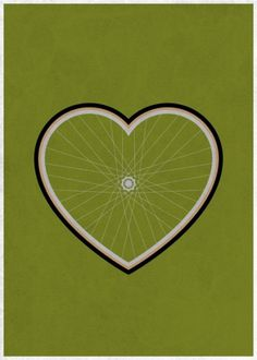 Concepts for All on the Behance Network #heart #fixie #fixed #wheel #bike #love #cog