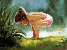 Children's Paintings by Donald Zolan | Cuded #children #donald #zolan #paintings