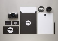 The Propeller Group : Lovely Stationery . Curating the very best of stationery design #white #business #card #print #camera #black #letterhead