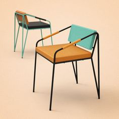 Sergio Martinez #pantones #chairs