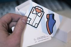 Business Card - Andy Knappett #card #illustration #business