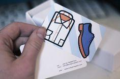 Business Card - Andy Knappett #illustration #business card