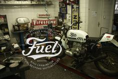 Fuel Motorcycles - New logo #design #logo #brand #type #typography