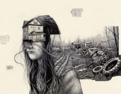Surreal Illustrations by Pat Perry #pat #surreal #perry #illustrations