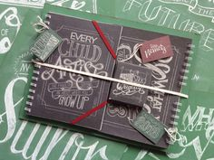 Chalkboard Lettering Stationery Set #chalk #branding #stationery