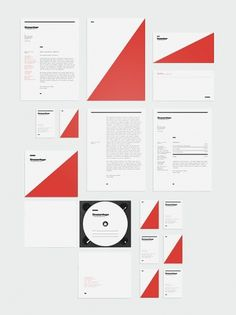 Visual identity concept / Strassenfeger on the Behance Network #print #identity