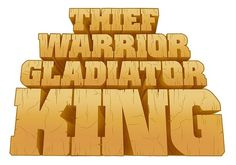 B L O G #gladiator #thief #warrior #type #king