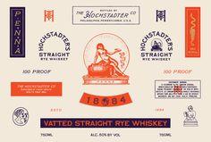label, whiskey