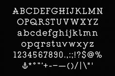ALBAN SCHELBERT #type #slab #serif #typewriter #custom #alban #schelbert