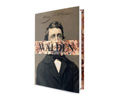 Walden, by Thoreau, book design by The Frontispiece