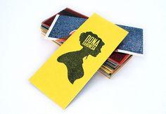 Dona Baronesa | Identity Designed #card #stamp #colors