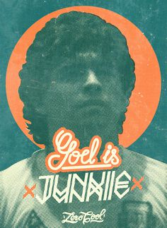 GOD IS JUNKIE on Behance #diego #cocaine #10 #diegol #print #pelusa #junkie #poster #dios