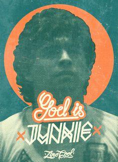 GOD IS JUNKIE on Behance #diego #cocaine #10 #diegol #print #pelusa #junkie #poster #dios