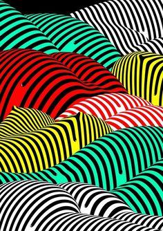 100 beste Plakate 2015 Striped Hills Lenzen Timo #timolenzen #100besteplakate #poster