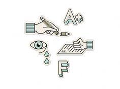 New York Times Magazine - DAN CASSARO - YOUNG JERKS - Design/Animation/Illustration #stickers