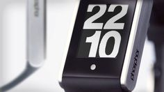 PHOSPHOR Touch Time Digital Watch