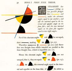 Mondrian Meets Euclid: An Eccentric Victorian Mathematician's Masterwork of Art and Science #colourful #mathematical