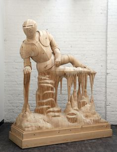 CJWHO ™ (Hand Carved Wood Sculptures by Morgan Herrin ...) #sculpture #herrin #crafts #design #wood #portrait #art #morgan