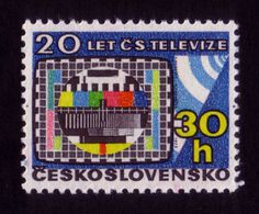 All sizes | 20 years of Czechoslovak television | Flickr Photo Sharing! #stamp