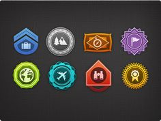 Badges #badge #travel #texture #colors #badges #award #tags