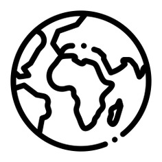 See more icon inspiration related to world, globe, earth, global, planet, space, world map, planet earth, geography, maps and location, Maps and Flags, astronomy and worldwide on Flaticon.