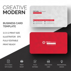 Red and white business card mockup Premium Psd. See more inspiration related to Business card, Mockup, Business, Abstract, Card, Template, Office, Visiting card, Red, Presentation, White, Stationery, Elegant, Corporate, Mock up, Creative, Company, Modern, Corporate identity, Branding, Visit card, Identity, Brand, Identity card, Professional, Presentation template, Up, Brand identity, Visit, Showcase, Showroom, Mock and Visiting on Freepik.