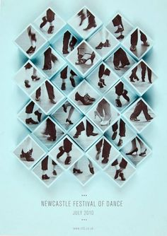 design work life » Amy Rodchester: Newcastle Festival of Dance Posters #cultural #poster