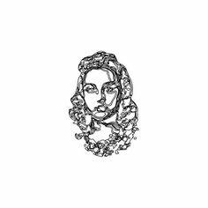 Follow: @b.unpublished work 06 #LIONESS #engineer #logo #symbol #technique #portrait #vector #outline #idea #concept #graphic #art #graphi