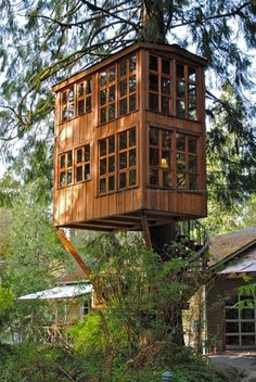 Treehouses of Treehouse Point - Trillium #treehouse
