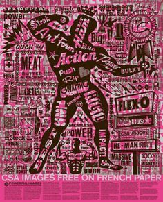 fpc_fof_poster1.jpg 445×549 pixels #lettering #pink #design #anderson #csa #french #promo #poster #charles #paper