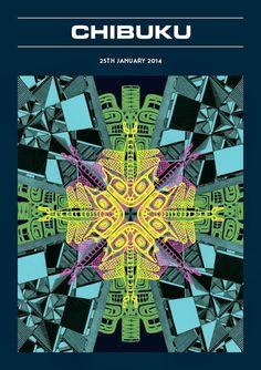 Thursday, 16 January 2014 #music #graphics #flyer #poster