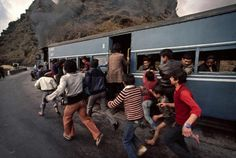 Trains Steve McCurry13 #india #photography #railway