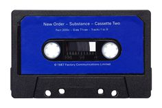 Julien Roubinet - Cassette - Substance by New Order  #neworder #cassette #vintage #julienroubinet #substance