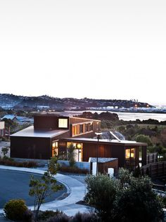 Enchanting Home Away From the Rush: The Nelson House in New Zealand #architecture
