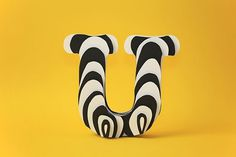 Beatiful Paper Letters by Jerome Corgier #paper #typography