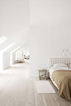 Уютный дом в Ма́льмё #interior #house #design #bedroom #bed