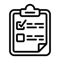 See more icon inspiration related to plan, list, clipboard, organization, files and folders, planning, optimization, organize, study, tasks, investigation and statistics on Flaticon.