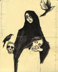 #illustration #moleskine
