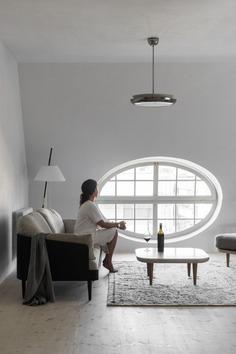 living room, Loft Kolasiński