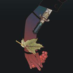 Ottoman Dagger. Detail by Maria Umiewska