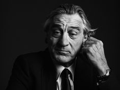 HEDI SLIMANE PUBLICATIONS #robert #photo #slimane #de #black #portrait #hedi #niro