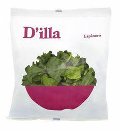 Ensaladas D'illa | nosolotinta. #packaging #murcia #salad #nosolotinta