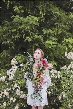 flowergarden2 #red #hipster #floral #bride #photography #soft #fashion #wedding #kinfolk #flowers