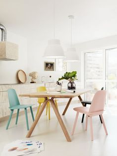 The Design Chaser: Interior Styling | Dining Table Lighting
