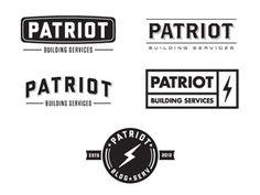 Dribbble - Pat Riot by Joshua Krohn #logo #vintage #branding