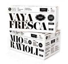 Sandro Desii Pasta #white #packaging #pasta #black #and