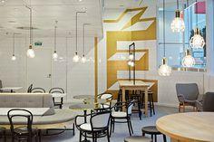 brand identity for the new Fazer Cafés