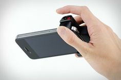 iPhone Shutter Grip | Uncrate #i #camera #iphone #shutter #photography #would #use #but #want #never #stuff